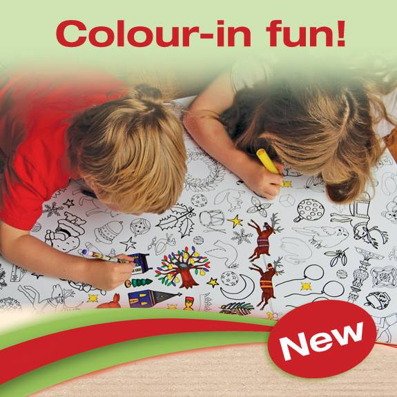 COLOUR-IN FUN