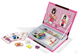 janod magnetic puzzle book box girls outfits