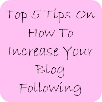 top 5 tips on how to increase your blog following