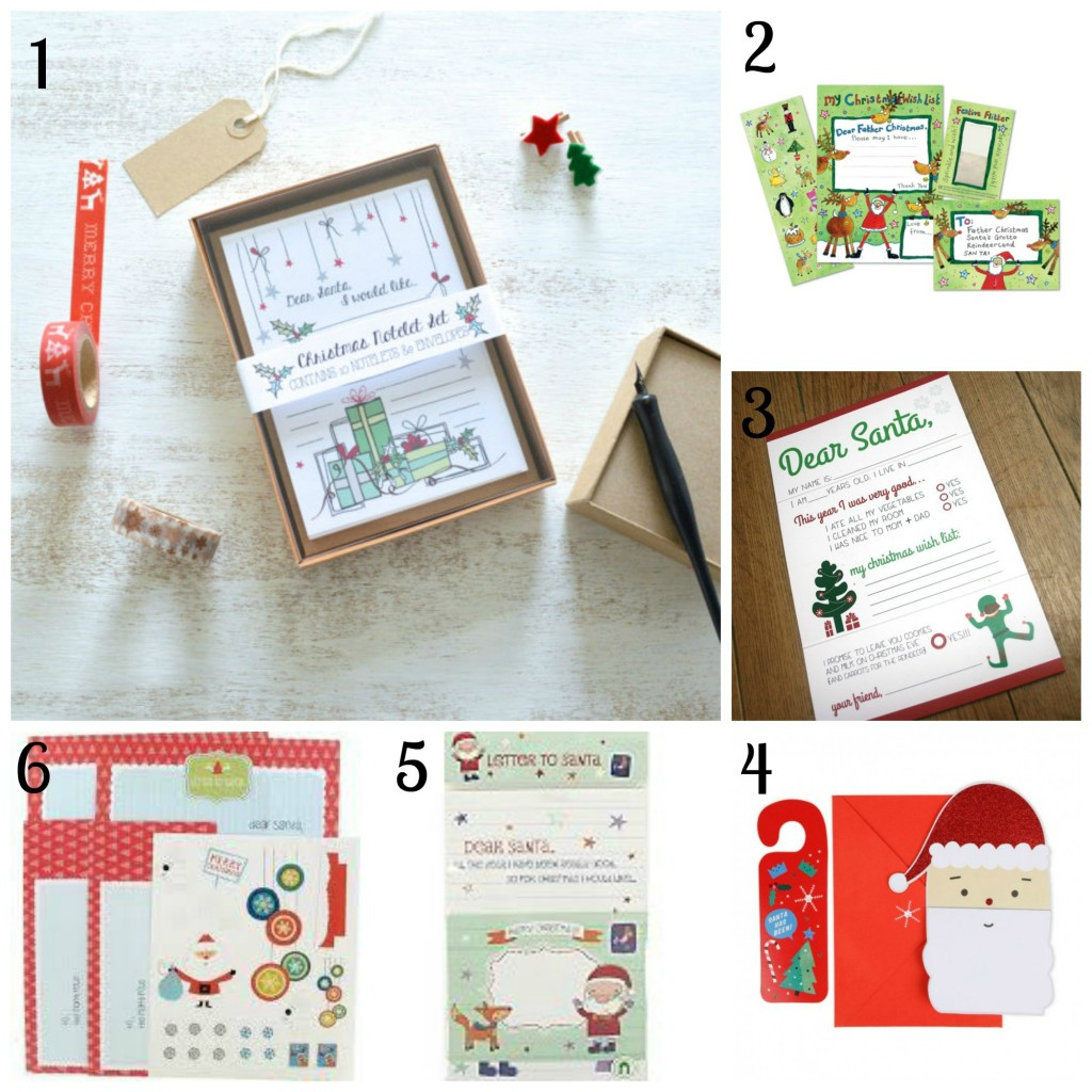 dear santa stationery