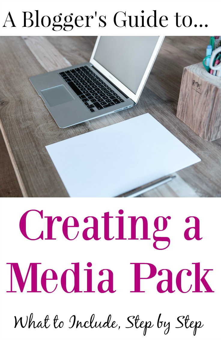 Blogger's Guide to Creating a Media Pack