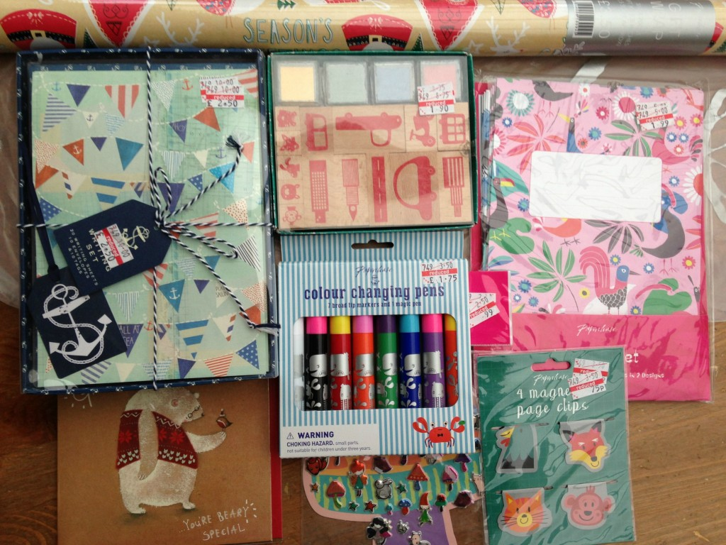 january stationery purchases