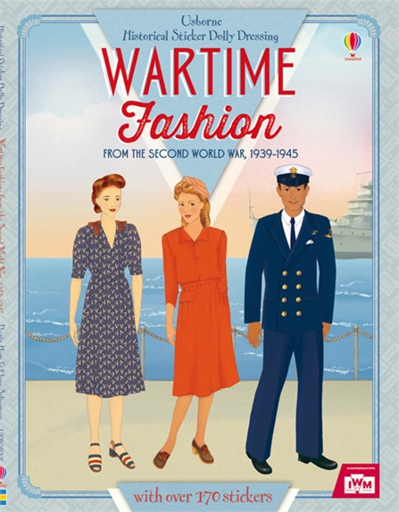 wartime fashion sticker book