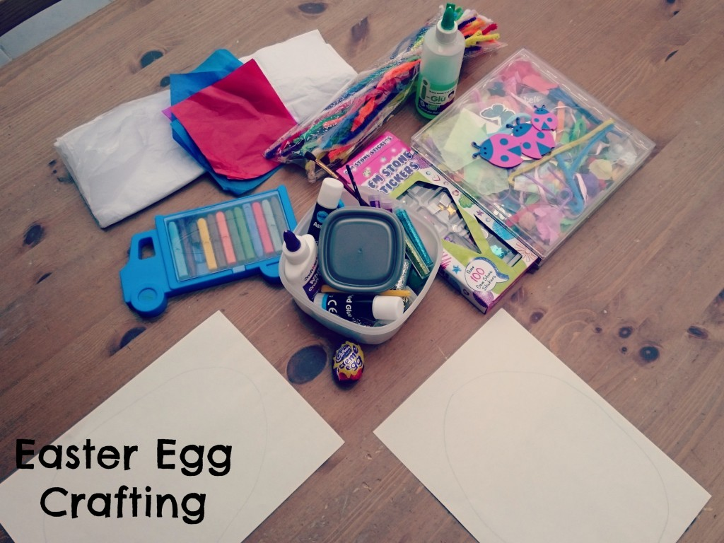 easter egg crafting