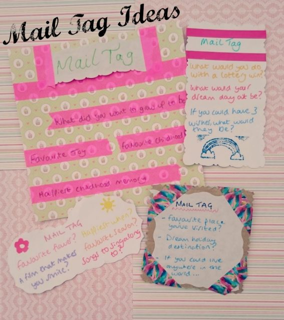 mail tag ideas