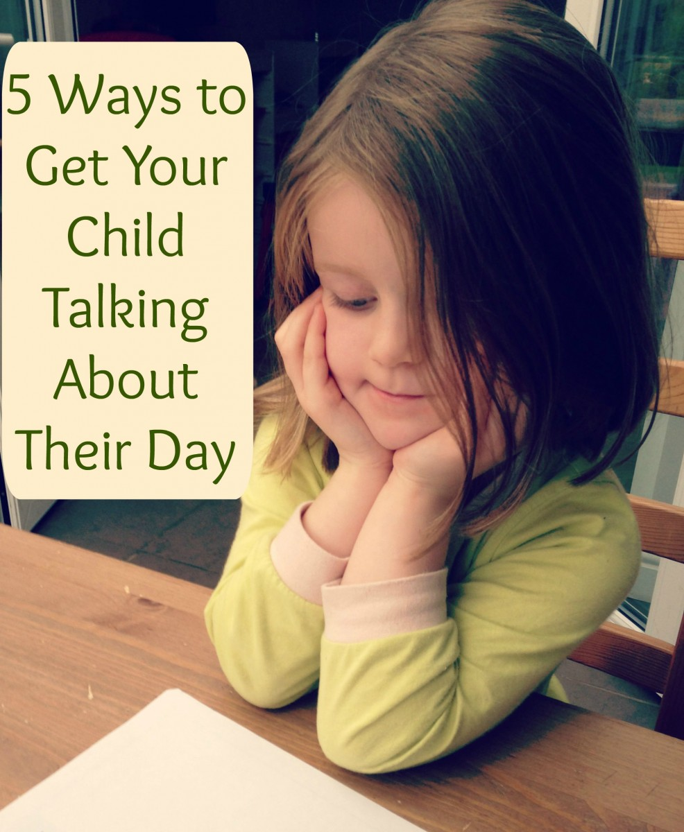 5 ways to get your child talking about their day