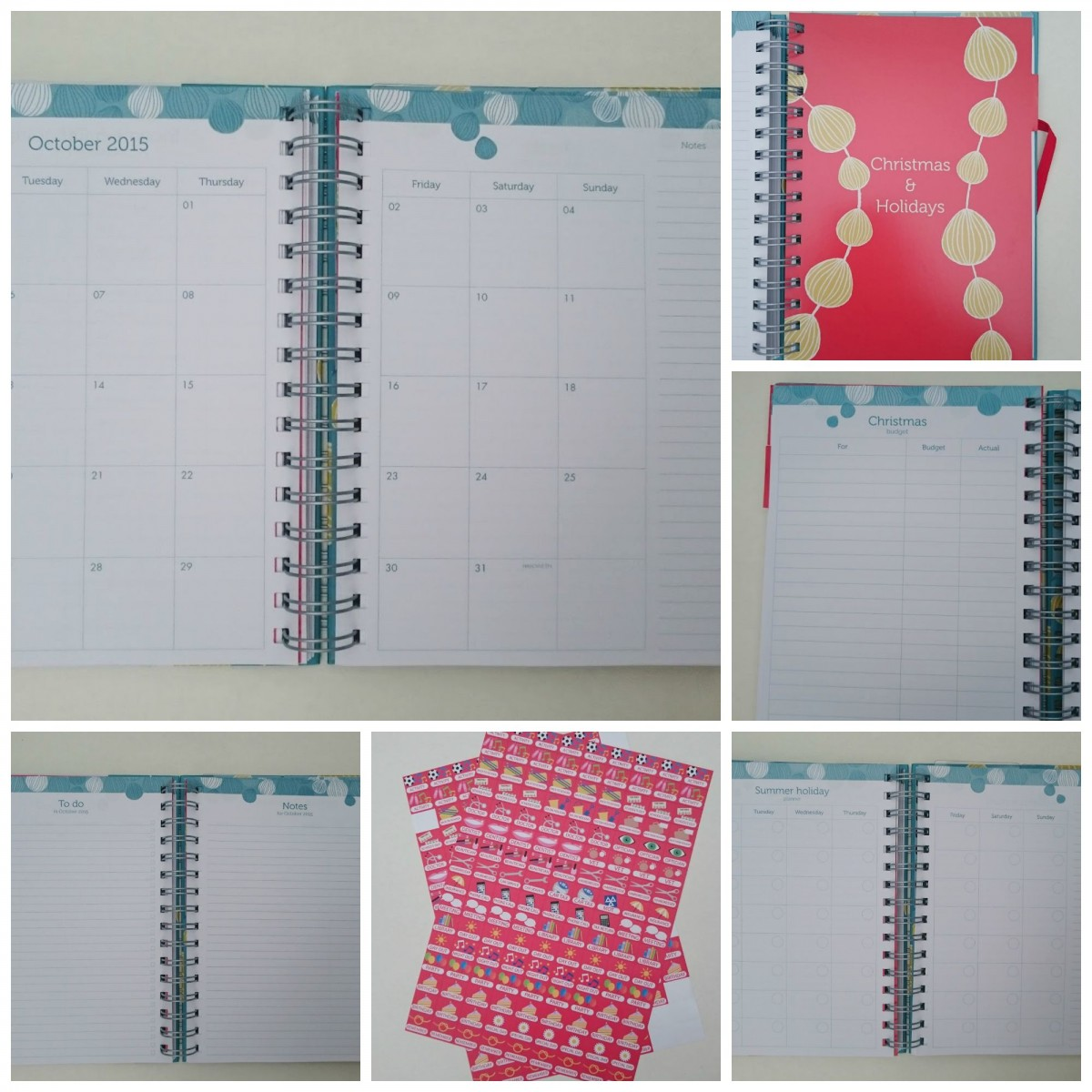 The Organised Mum Life Book Pages & Inserts