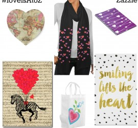 #loveisAtoZ with Zazzle