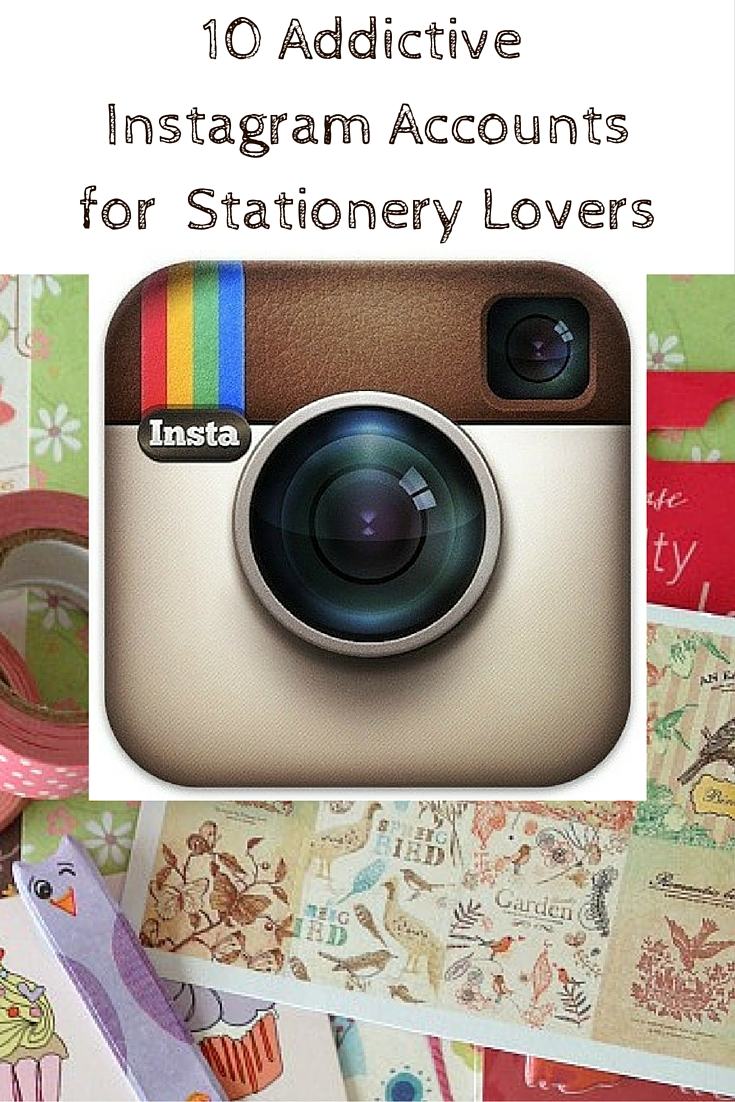 10 Addictive Instagram Accounts for Stationery Lovers