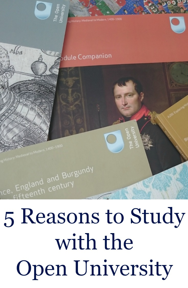 5 Reasons to Study with the Open University