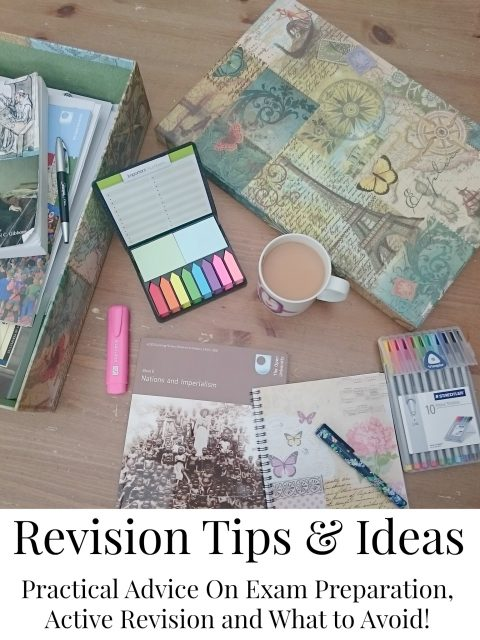 Revision Tips for Exams