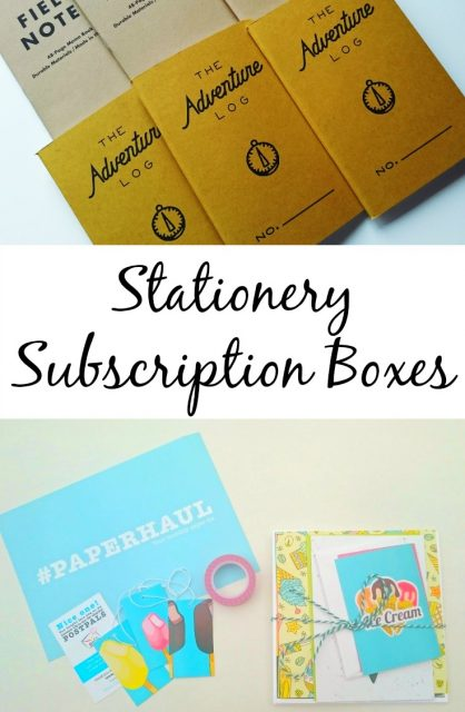 Stationery Subscription Boxes