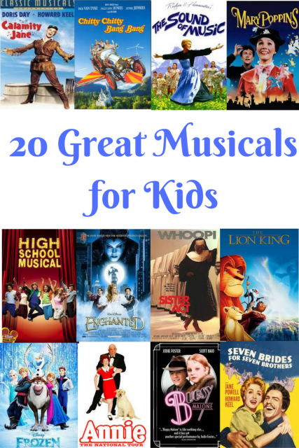 20 Great Musicals for Kids