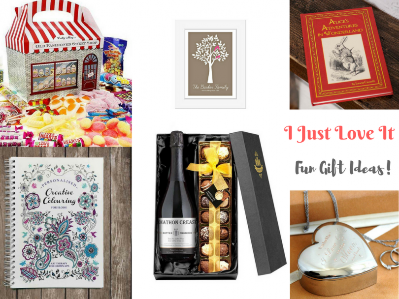 I Just Love It - Fun Gift Ideas