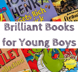 Brilliant Books for Young Boys