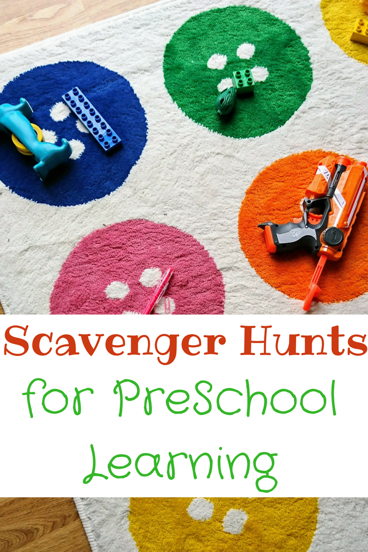 Scavenger Hunts for Preschool Learning