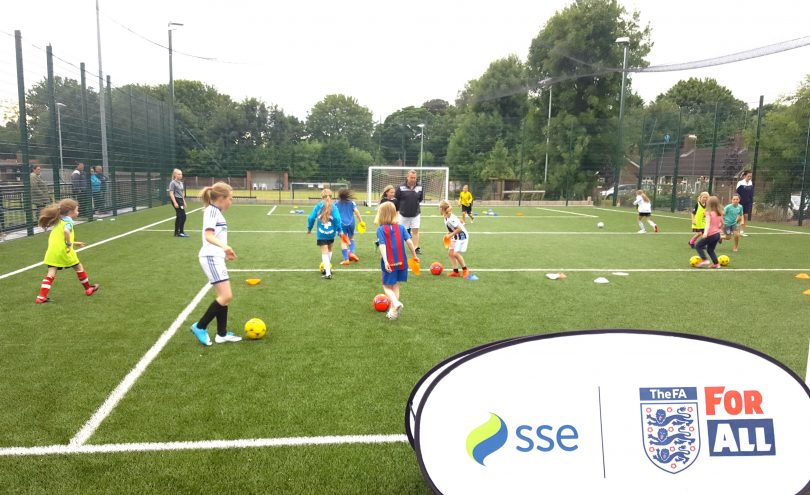 SSE Wildcats training session