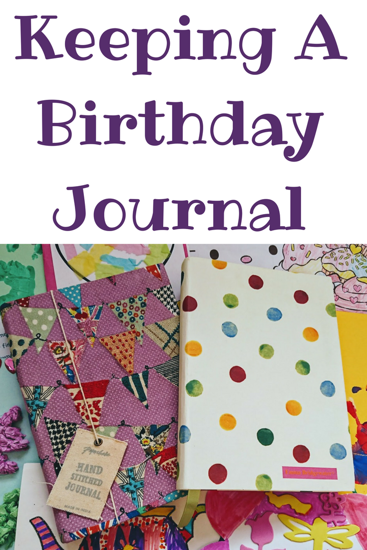 Keeping A Birthday Journal