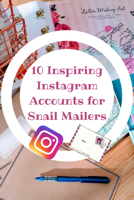 10 Inspiring Instagram Accounts for Snail Mailers