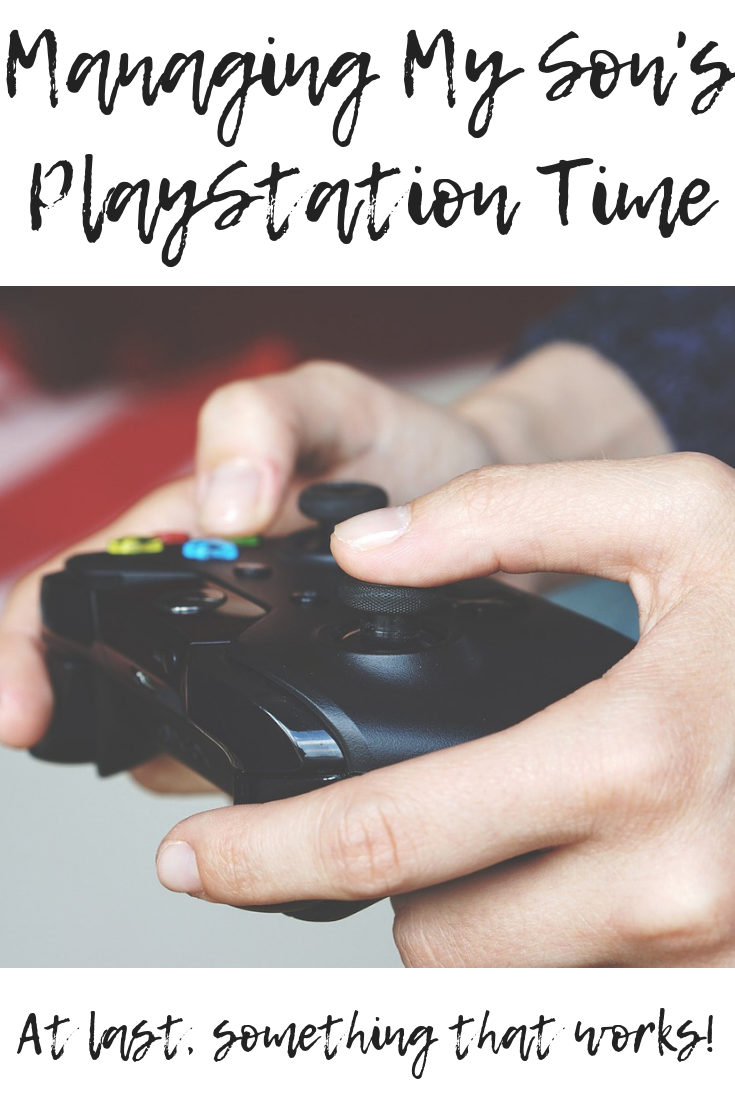 Managing My Son's PlayStation Time